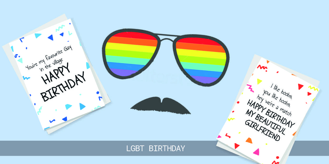 LGBT birthday cards