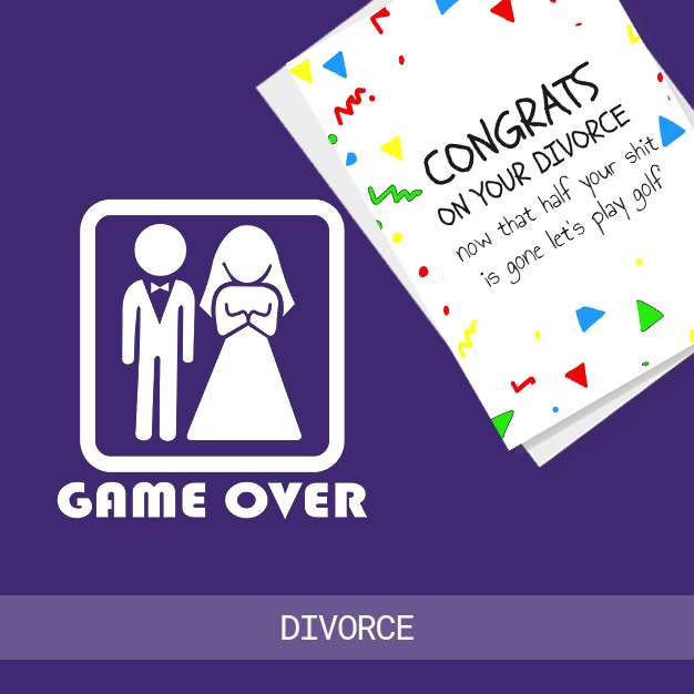 Buy Divorce Cards Ireland