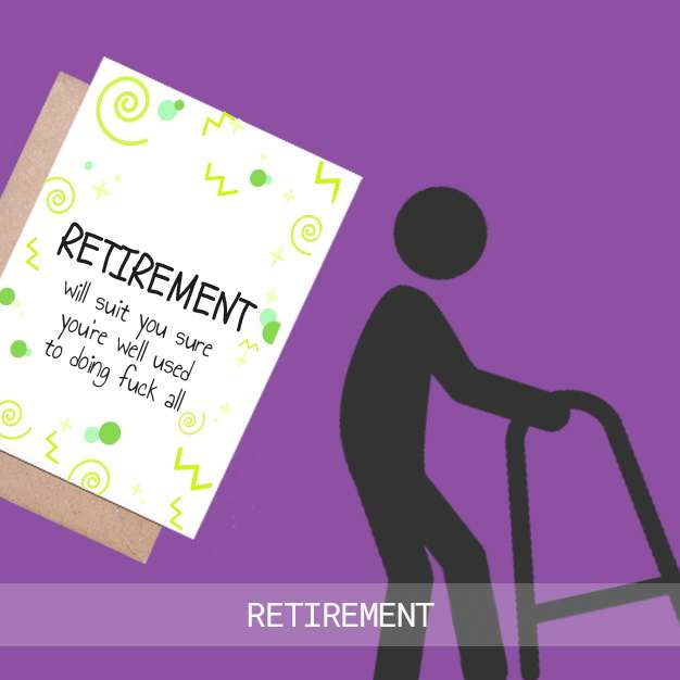 retirement cards ireland